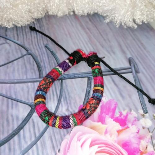 Браслет-шнур в стиле этно/бохо