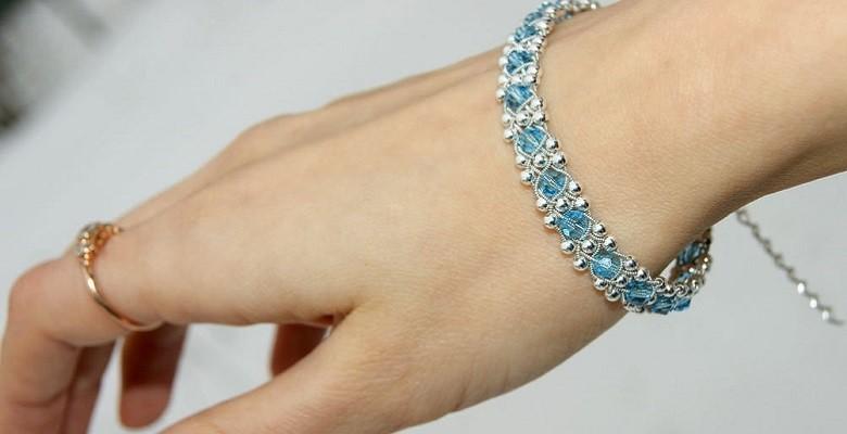 Как носить серебряный браслет
