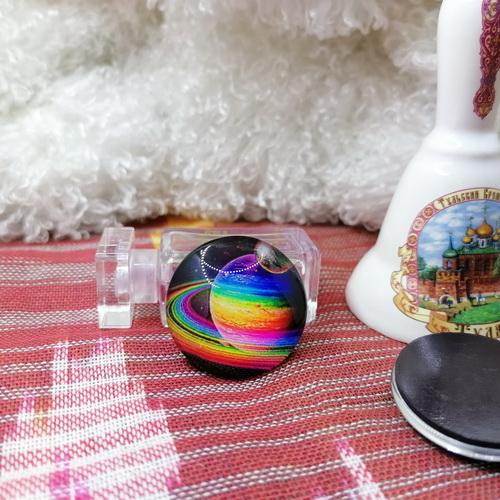 "Магнит ""Красочный Сатурн"""